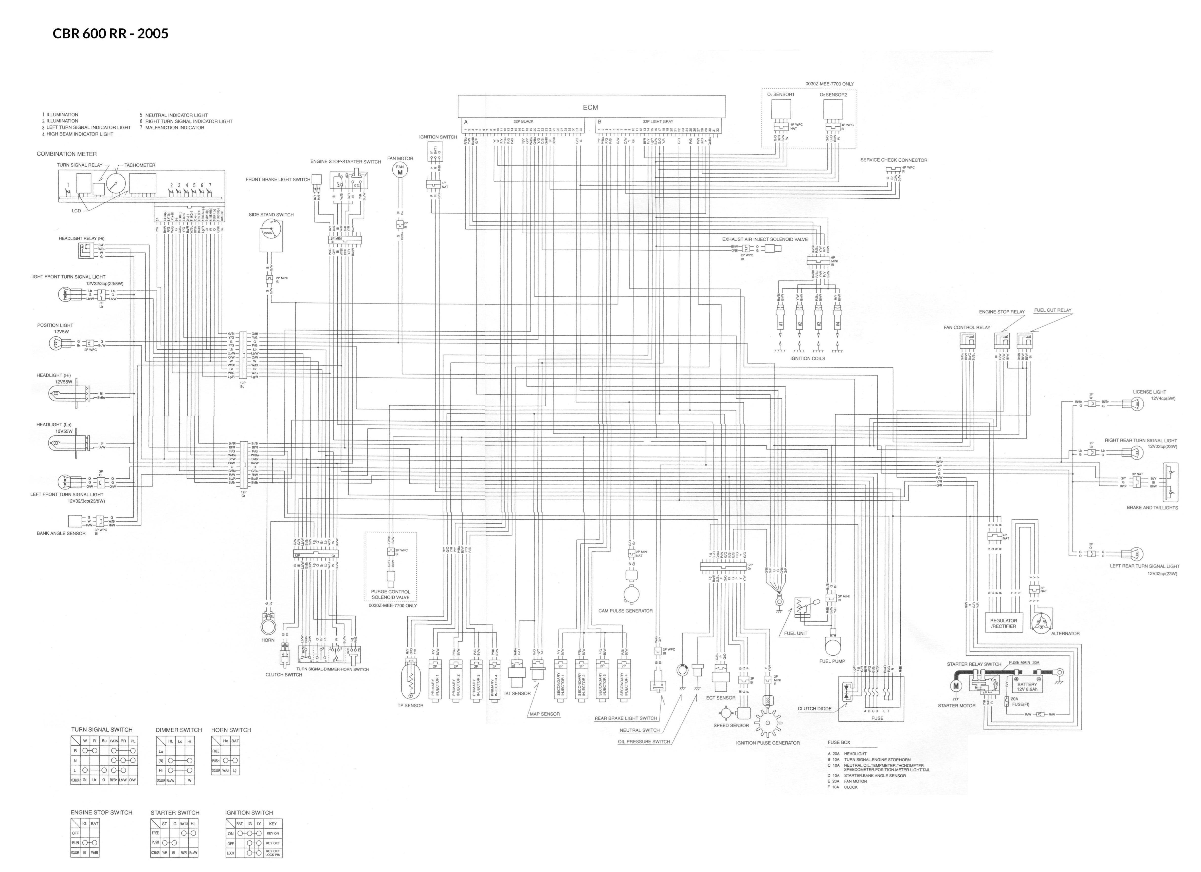 Honda Cbr600rr 05 Wiring Jpg  1014 Kb
